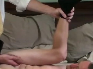 Sex Movie of Missionary Amateur Cums After Assfucking