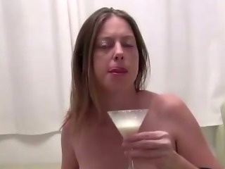 Porno Video of Preggo Slut Cock Milk Drench