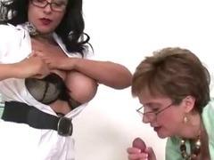 Mature femdom nurses handjob