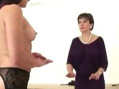 Hot Lady Sonia dominates lesbian