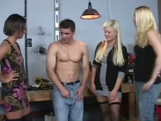 Porno Video of Femdoms Cfnm Victim Face Sitting