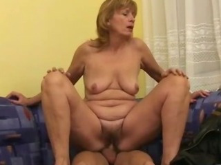 Porno Video of Brenda Gets A Young Dick Inside Her