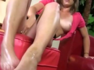 Porno Video of Hot Footjob Fetish Nasty Slut