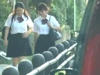 Porno Video of Schoolgirl Tricked And Used In Car