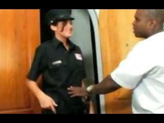 Porno Video of Good Cop Bad Cop Interracial