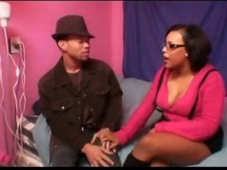 Porn Tube of Horny Black Babysitter
