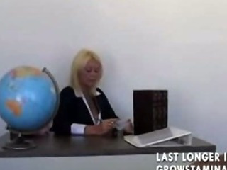 Porn Tube of Blonde Teacher