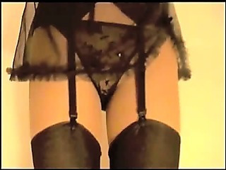 Porn Tube of Suzy In Nylon Stockings