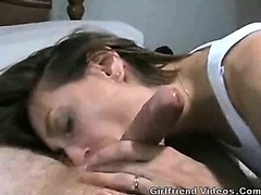 Wife Blowjob & Cum On Face