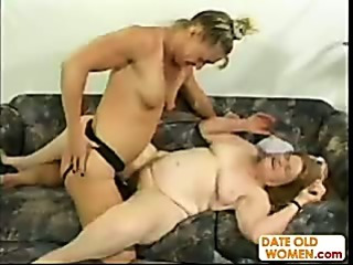 Porno Video of Granny Gets Some Raunchy Action