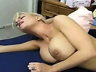 Porno Video of Big Breasted Bed Press