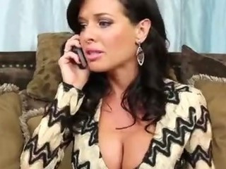 Porn Tube of Veronica Avluv Invites Johnny Over And Fucks His Huge Cock To Relieve Fear