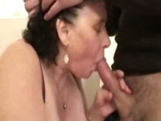 Porn Tube of Ginette, French Bbw Gangbanged