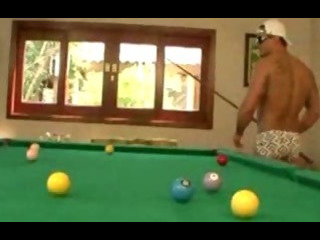 Porn Tube of Carol Sampaio Fucked On The Pool Table