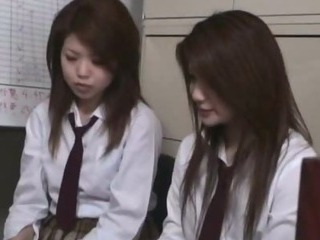 Porno Video of Stationmaster Schoolgirls Caught Fare Dodging 13 Beuatiful Girls