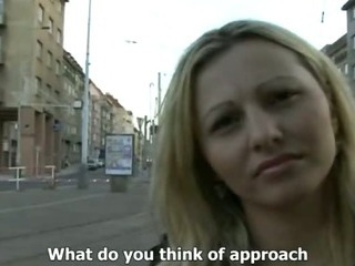 Porn Tube of Czech Streets - Ilona Takes Cash For Public Sex
