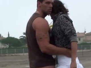 Porno Video of Basketball Court Threesome