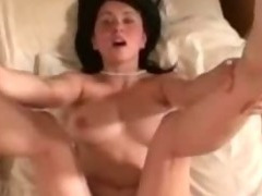 Young cute Britney gets boned and swallows her boyfriends load