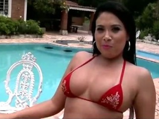 Porn Tube of Soraya Carioca Bares Her Massive Brazilian Ass And Gets Her Sweet Asshole Reamed