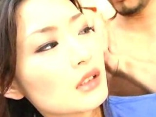 Porn Tube of Hot Japanese Babe Sucking Fucking Hard