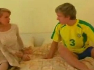 Porno Video of Mom Waits Her Son In Her Bed For An After Soccer Party