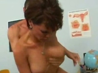 Porno Video of Busty Teacher Fucked Hard