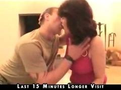 Nice Mature Enjoys Young Cock