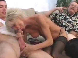 Porno Video of Older Milf Pleasured By Young Lover