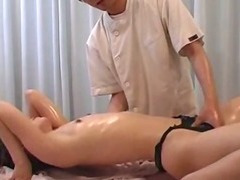 Massaged to orgasm