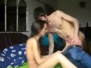 Porno Video of Skinny Couple Doing It All - Homegrownflix.com - Homemade Amateur Sextape