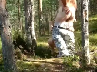 Porno Video of Army Guy Fucks His Gf In The Forest