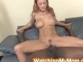 Porno Video of Hung Black Badass Goes Deep Inside White Busty Cougars Cunt