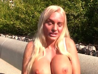 Porn Tube of Jordan Pryce Is A Blonde And Busty Bitch With A Lot Of Sex Eager