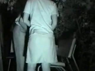 Porno Video of Public Bench Midnight Love Affair