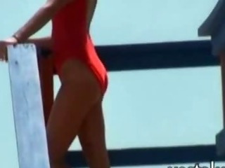 Porno Video of Dude Films Friend Who Works As Lifeguard And Is Invited Home By Her