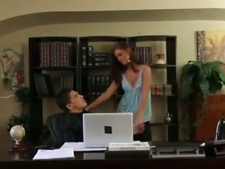 Porn Tube of Boss Caught Cheating On His Wife Getting Blowjob In Office