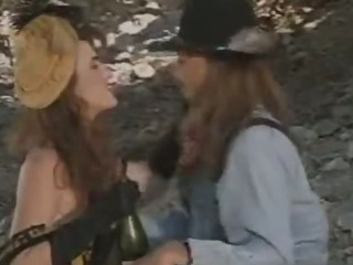 Sex Movie of Brooke Waters Meets Her Wild West Lover  Outdoors
