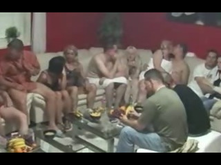 Porn Tube of Biggest Mature Swingers Party
