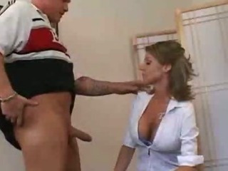 Porno Video of Busty Milf Gets Her Tight Pussy Pounded