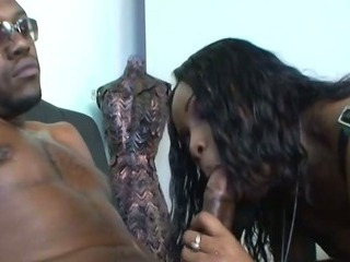 Porn Tube of Ebony Slut Deepthoats Black Monster Cock
