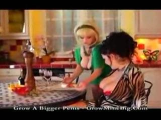 Porno Video of Busty Lesbian Milf