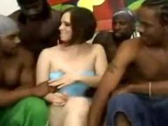 Tatum Reed Interracial Gangbang