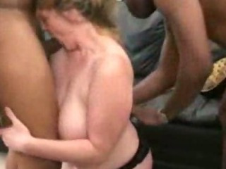 Porn Tube of Cheating Fat Wife Takes On 2 Big Black Cocks
