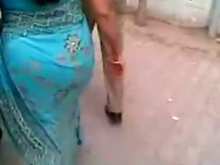 Porn Tube of Mature Indian Ass In Blue Saree.flv - Youtube