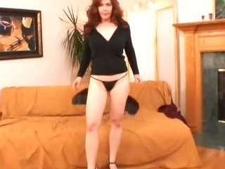 Porn Tube of Redhead Mom Sucking And Fucking