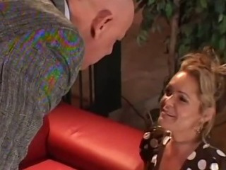 Porn Tube of Cock Hungry Mother Fucked On The Couch