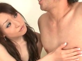 Porno Video of Ryo Kaede Plays With Her Guys Nipples Making Him Ready To Fuck