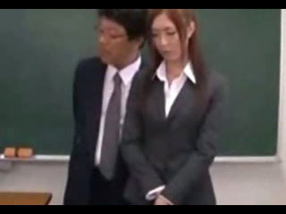 Porn Tube of Nasty Japanese Teachers Banged In Classroom - Vid 30
