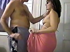 Milf Veronica bugs her husband for sex
