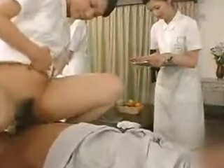 Porno Video of Japanese Nurses Give Blowjob Tit Lick And Deep Kiss